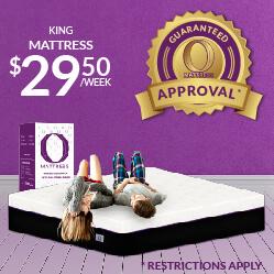 King O Mattress $29.50 a week - Guaranteed Approval