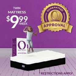 Twin O Mattress $9.99 - Guaranteed Approval