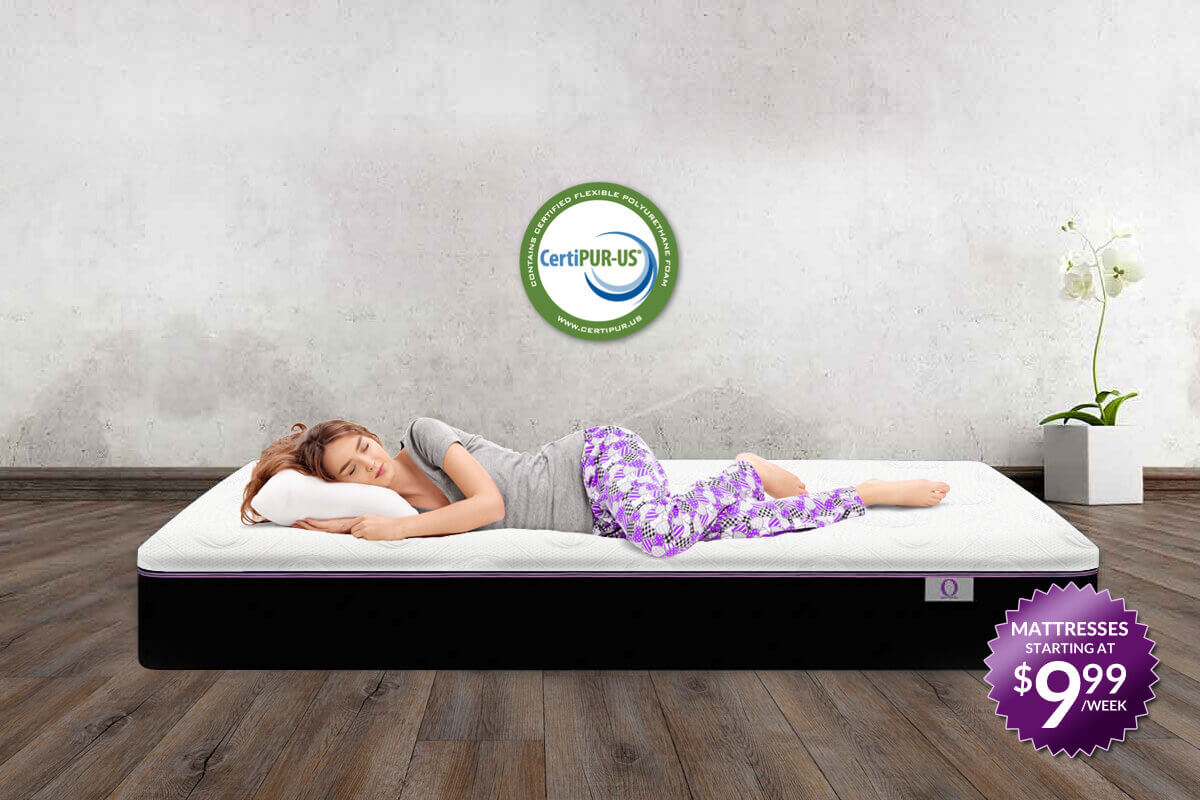 "CertiPUR-US The ""O"" Mattress certified foam"