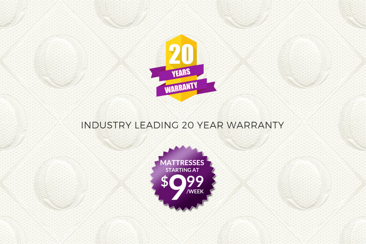 20 Years Warranty - Industry leading 20 year warranty