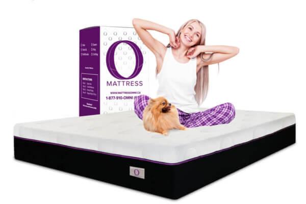 """""""O"""" Mattress starts at only $9.99/week plus free shipping"""