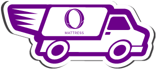 Fast free shipping with Omni Mattress