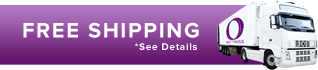 Free Shipping Dark Purple - Truck banner