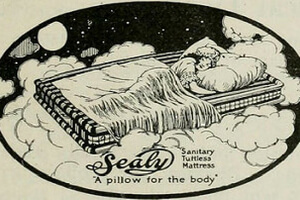 Years ago, a classic ad idea was comparing Sealy to a pillow