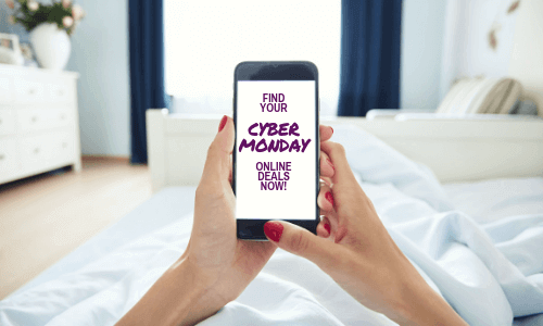 No need to leave your bed to buy your mattress with Cyber Monday.