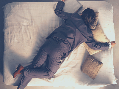 Sleep deprivation can be a problem for men.