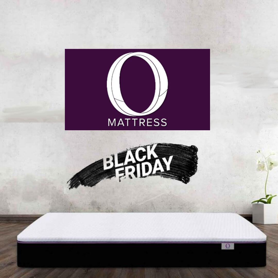 Black Friday square banner - Omni Mattress