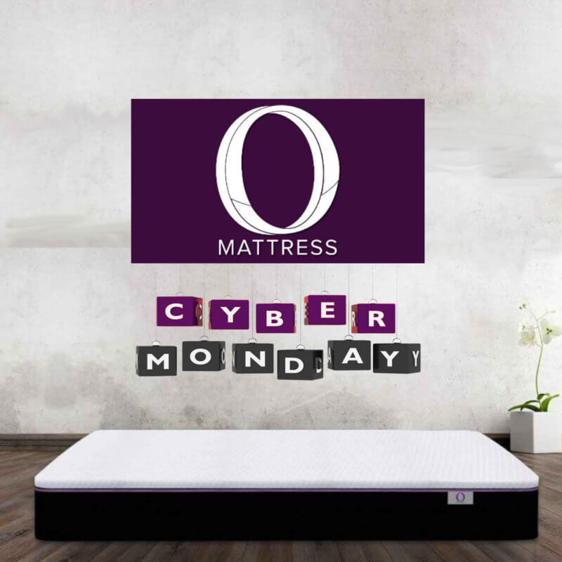 Cyber Monday square banner - Omni Mattress