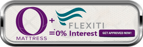"""O"" Mattress + Flexiti = 0% interest - Get Approved Now!"