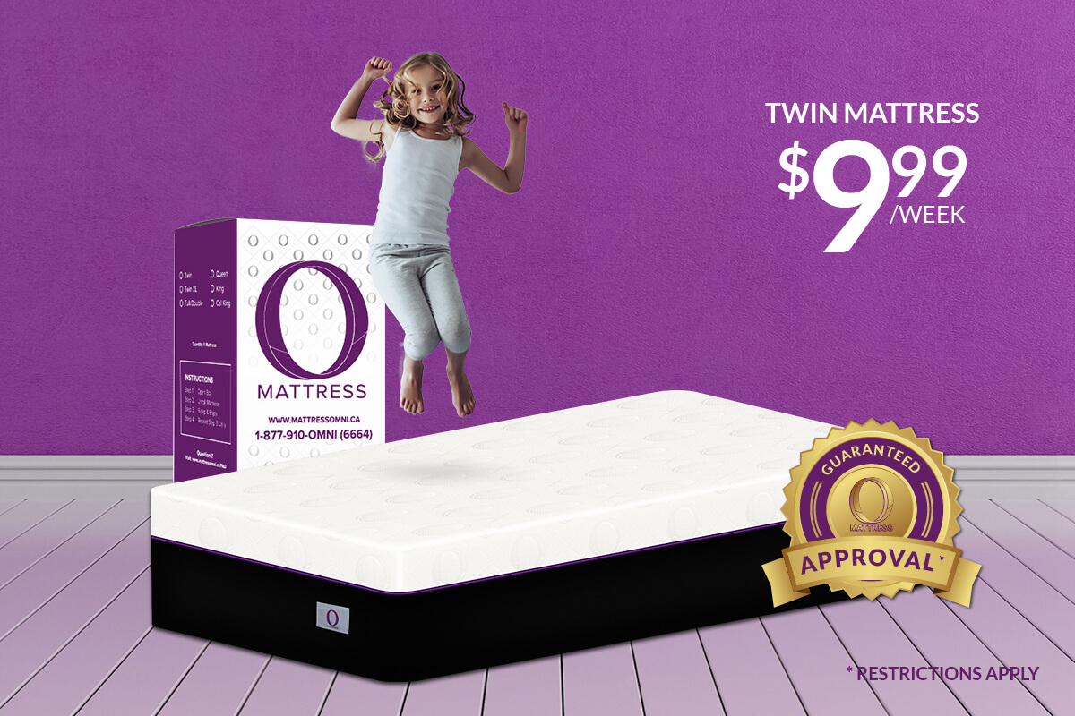 "Twin ""O"" Mattress-Platinum"