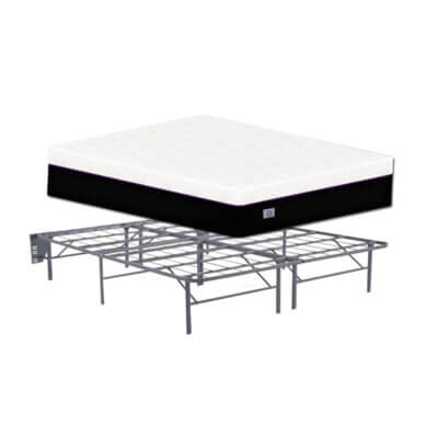 O Mattress Full Size With Metal Frame