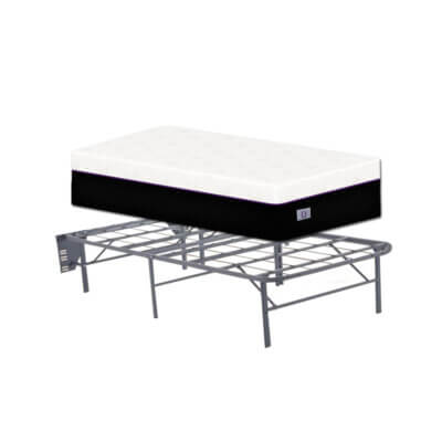 O Mattress Twin Size With Metal Frame
