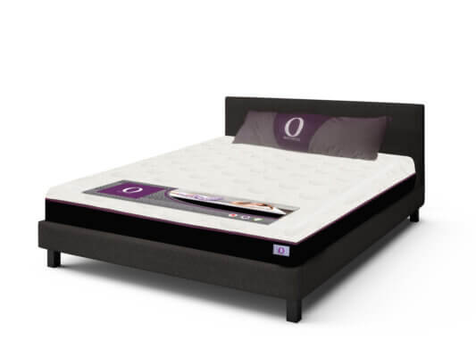 Omni Upholstered Bed With Mattress - King Size