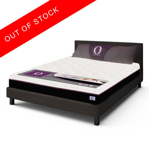 Queen Size Upholstered Bed With Mattress